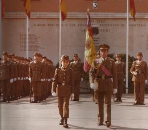 Filiación como soldado del Príncipe de Asturias.