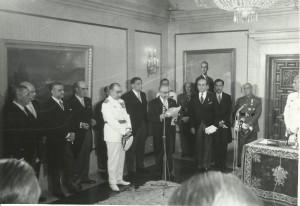 Príncipe de España. Designación de sucesor a título de Rey. Ley 62/1969