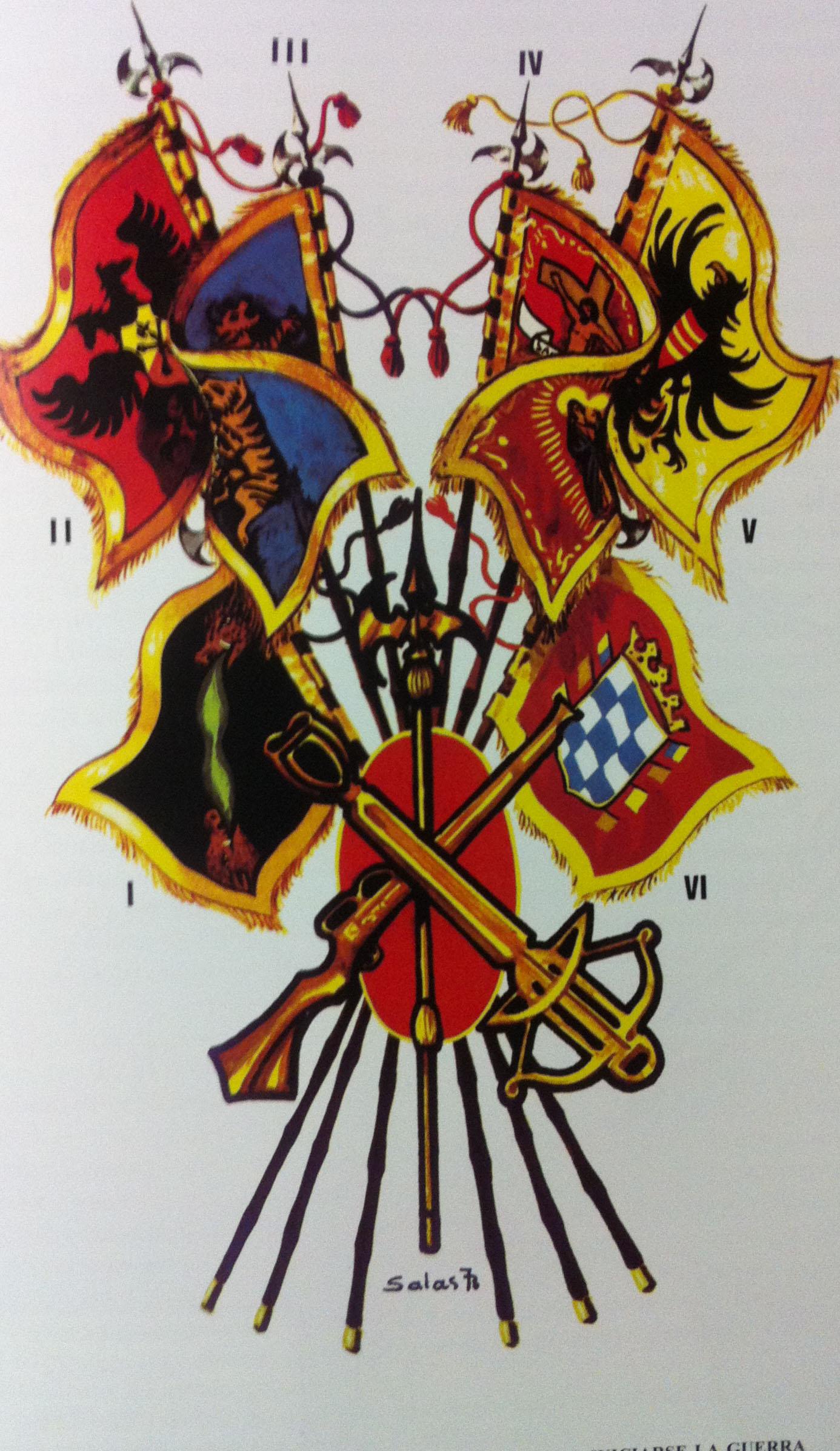Un Banderín de la Legión para Don Juan III | General Dávila