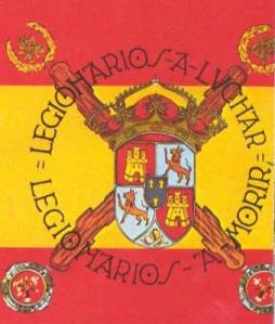 Bandera Legión (x Ma. Cristina)