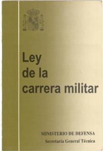 PORTADA Ley carrera militar