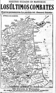JUNIO 1913-FOTO-MARRUECOS-PLANO GUERRA