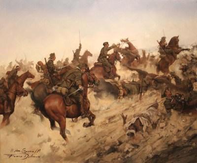 Carga-Regimiento-Alcántara