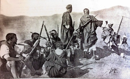 combatientes rifeños