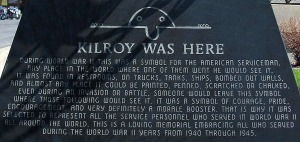 Kilroy Was Here Marker