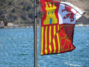 bandera de proa