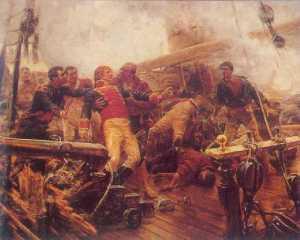 im693914048-Celtib Muerte de Churruca en Trafalgar