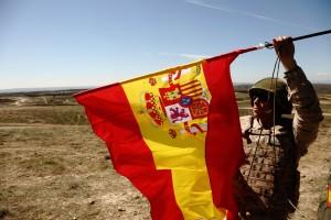 Zaragoza 08 de abril de 2014 maniobras de la Brigada Acorazada Guadarrama XII en San Gregorio foto Fabián Simón archdc