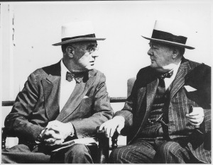 Franklin_D._Roosevelt_and_Churchill_in_Quebec,_Canada_-_NARA_-_195419