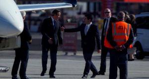 FOTO 4. visita de Cameron a gibraltar (Foto Reuters para el mundo)