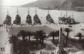 buques de guerra en cartagena