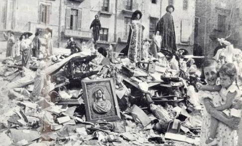 Quema de conventos en 1931