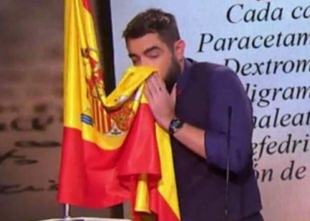OFENSA A LA BANDERA EN LA SEXTA TV. Rafael Dávila Álvarez. General de División(R.)